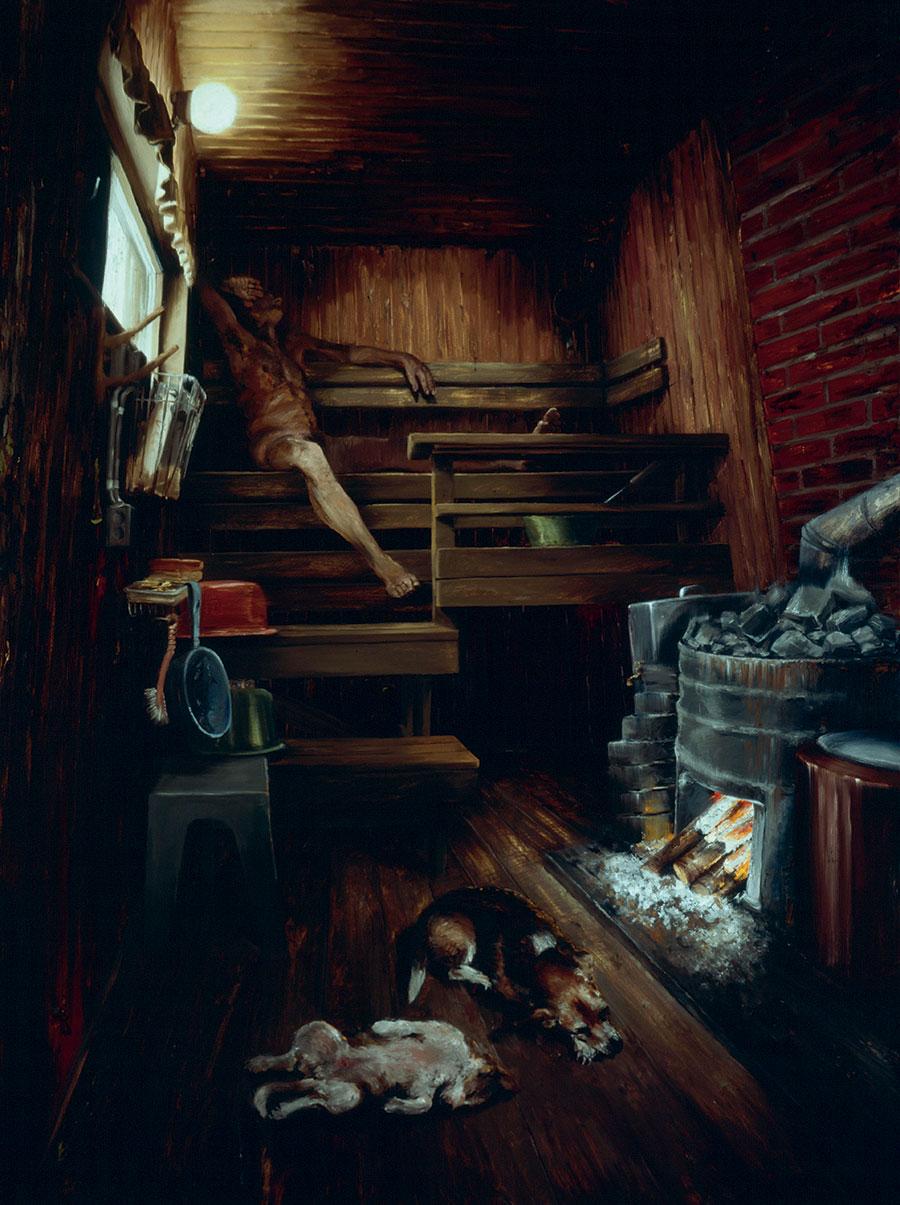 painting-2008-sauna